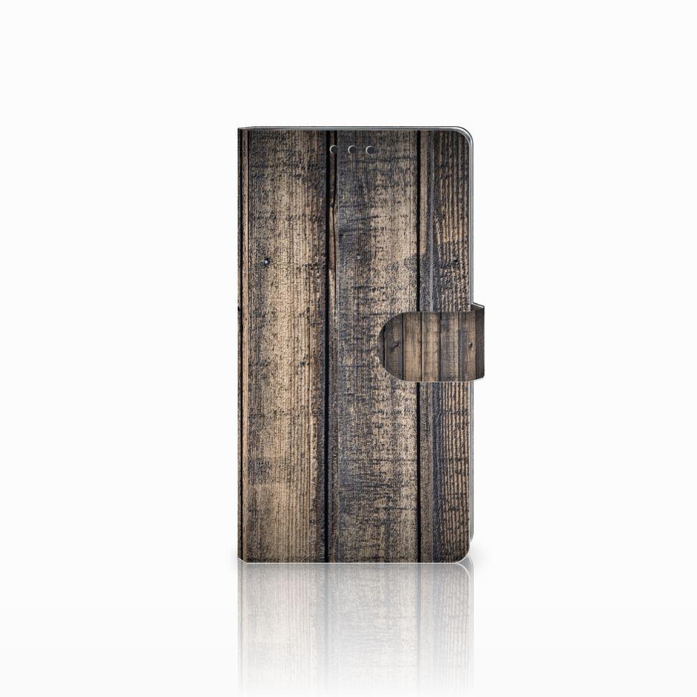 Sony Xperia XA2 Ultra Boekhoesje Design Steigerhout