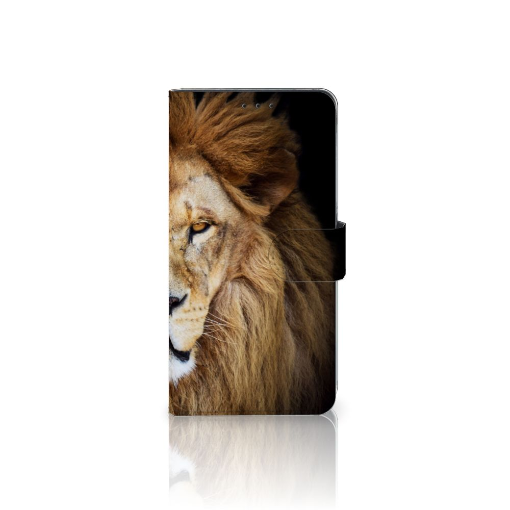 Samsung Galaxy A8 Plus (2018) Boekhoesje Design Leeuw