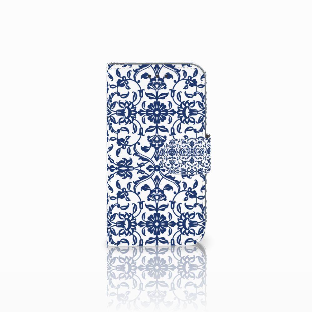 Samsung Galaxy Core Prime Boekhoesje Flower Blue