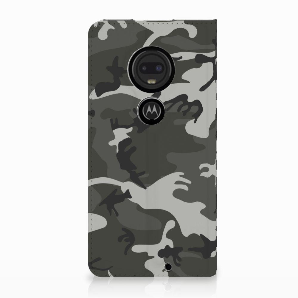 Motorola Moto G7 | G7 Plus Uniek Standcase Hoesje Army Light