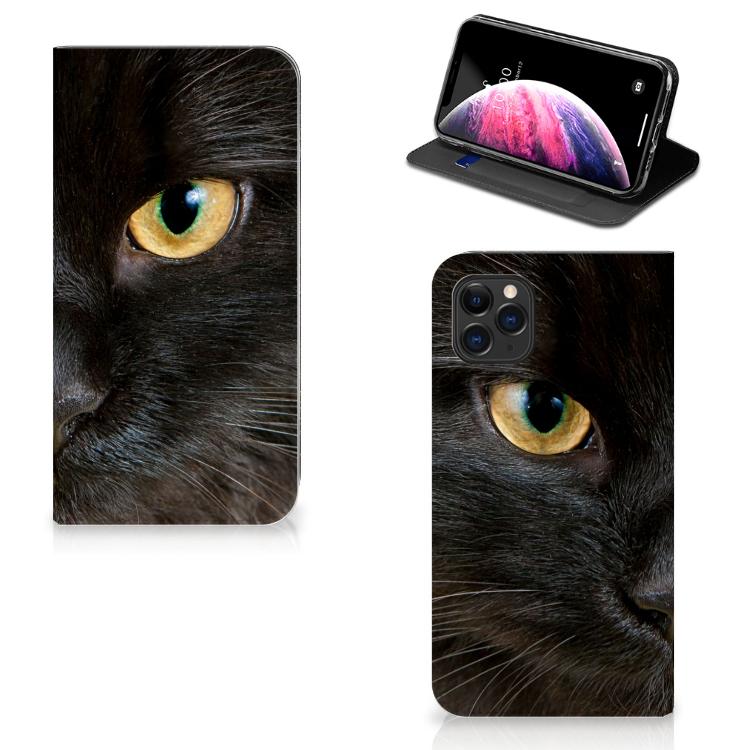Apple iPhone 11 Pro Max Hoesje maken Zwarte Kat
