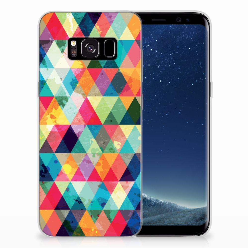 Samsung Galaxy S8 TPU bumper Geruit