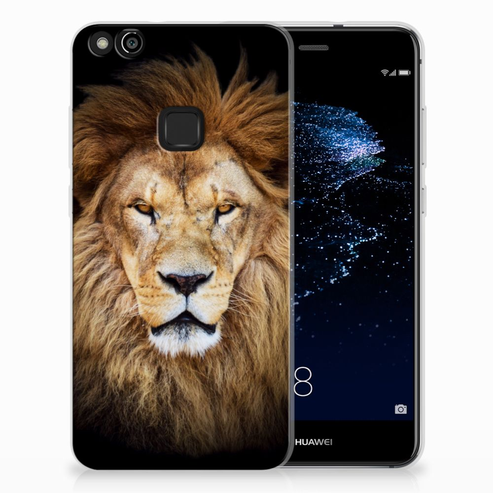 Huawei P10 Lite TPU Hoesje Design Leeuw