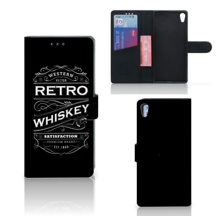 Sony Xperia XA1 Ultra Book Cover Whiskey
