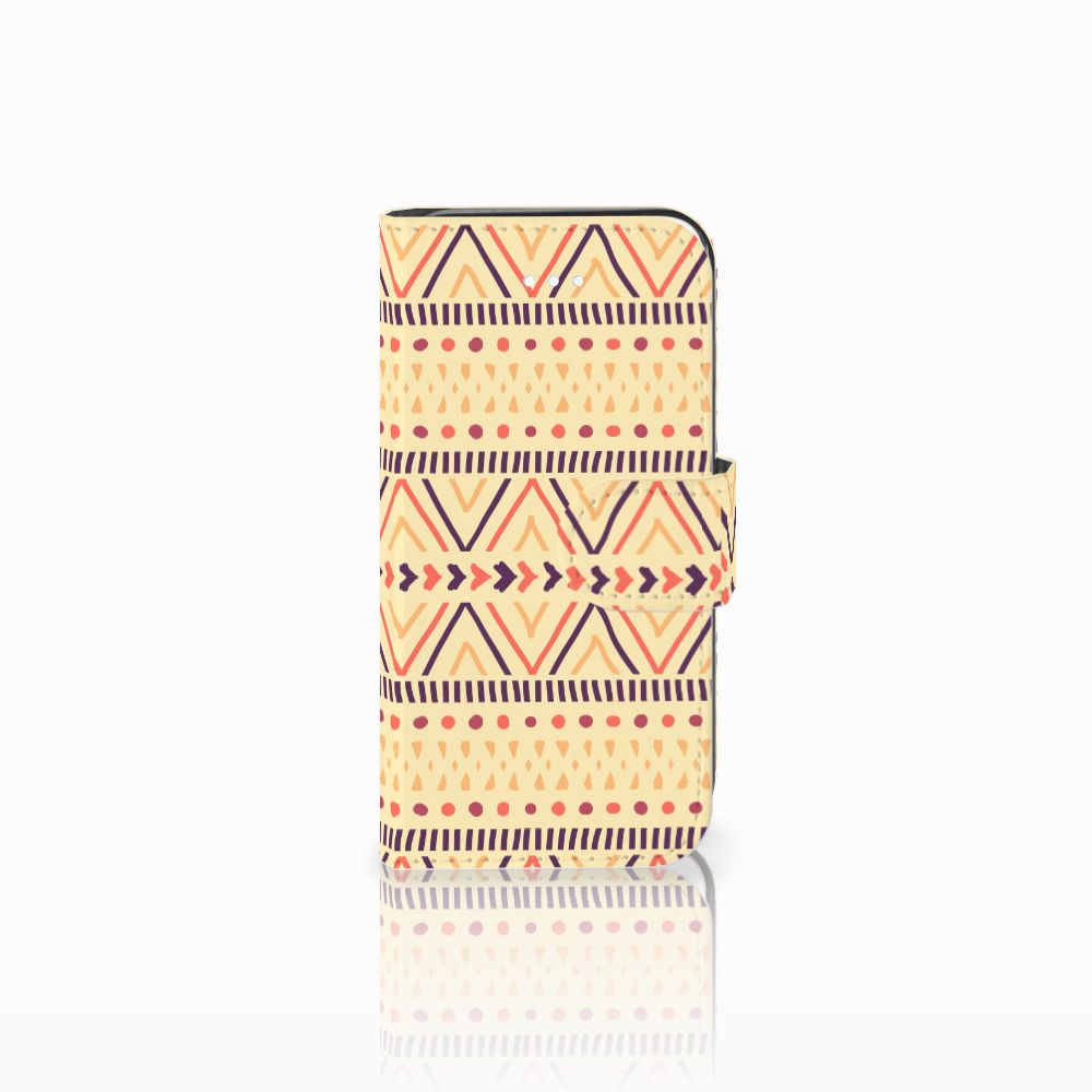 Apple iPhone 5 | 5s | SE Telefoon Hoesje Aztec Yellow