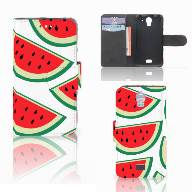 Huawei Y360 Book Cover Watermelons