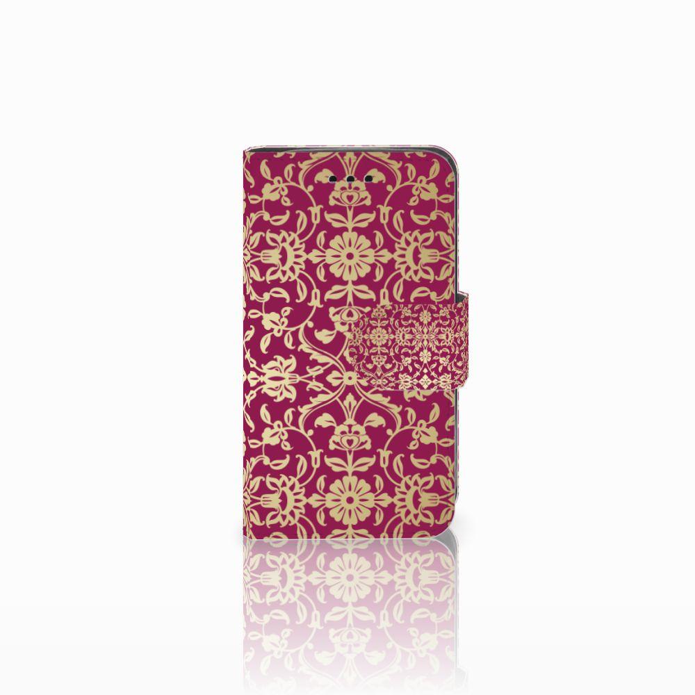Samsung Galaxy Trend 2 Boekhoesje Design Barok Pink
