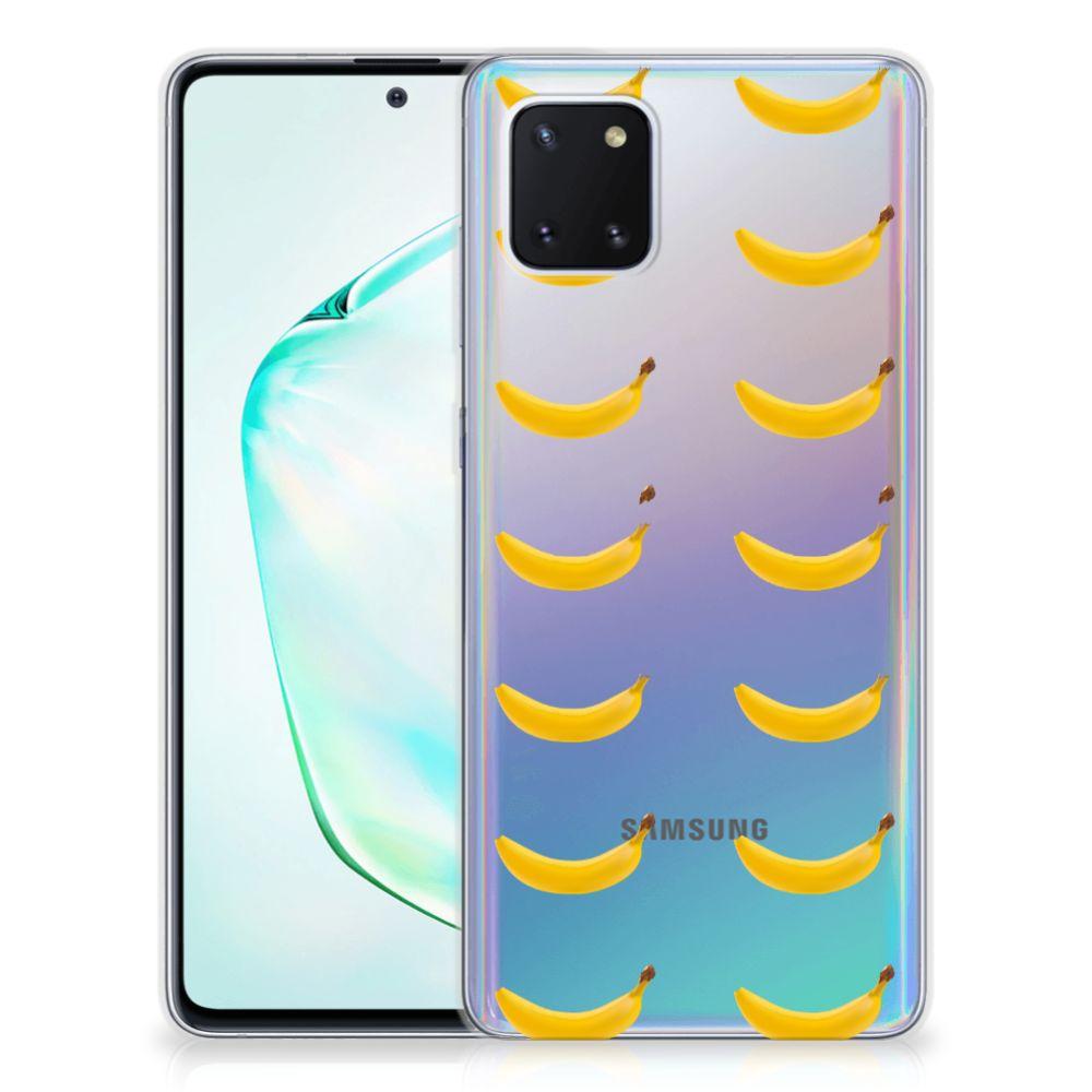 Samsung Galaxy Note 10 Lite Siliconen Case Banana