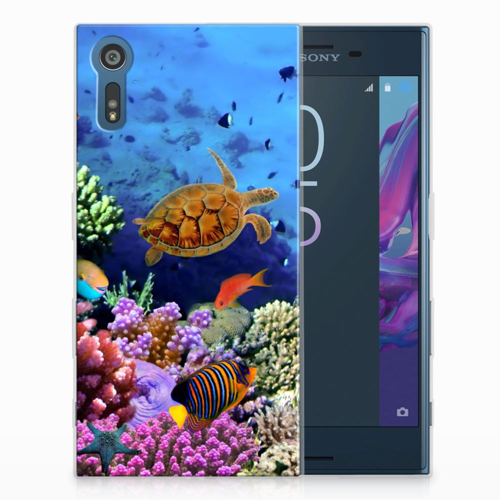 Sony Xperia XZs | XZ TPU Hoesje Design Vissen