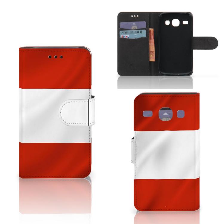 Samsung Galaxy Core i8260 Bookstyle Case Oostenrijk