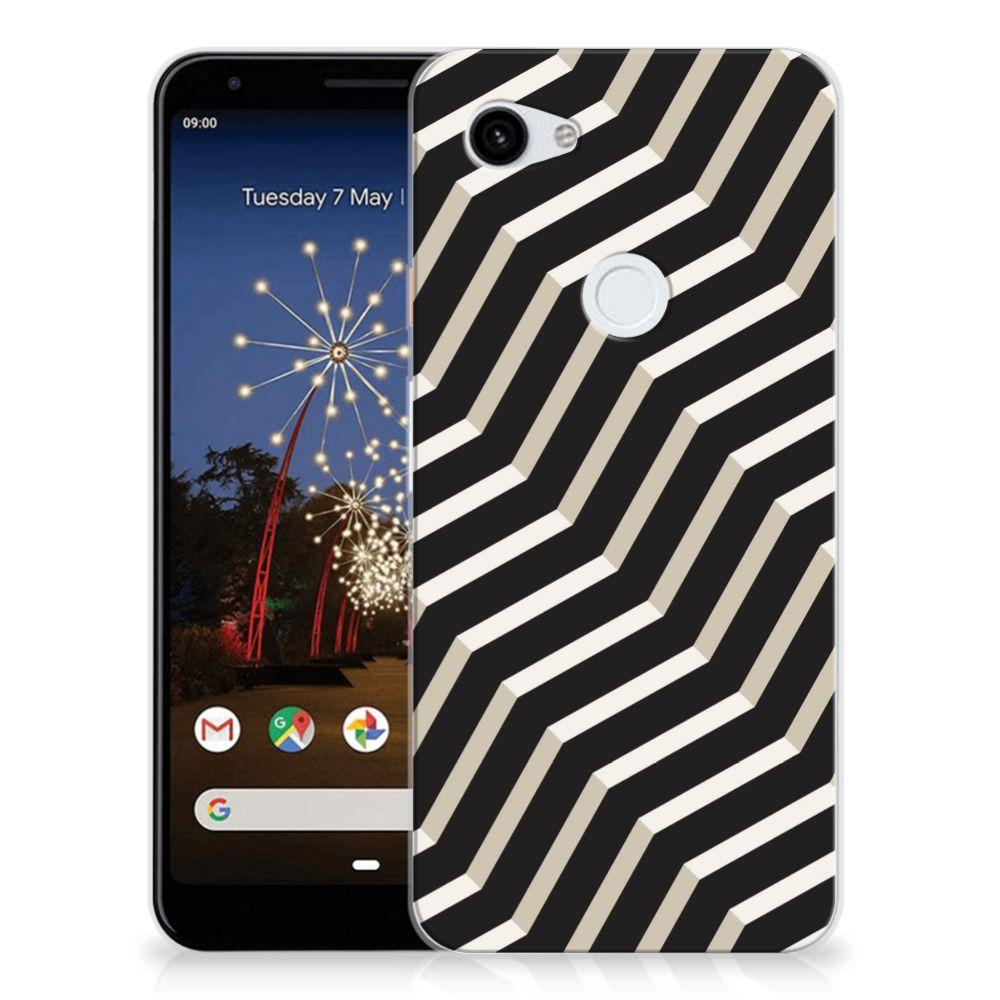 Google Pixel 3A XL TPU Hoesje Illusion