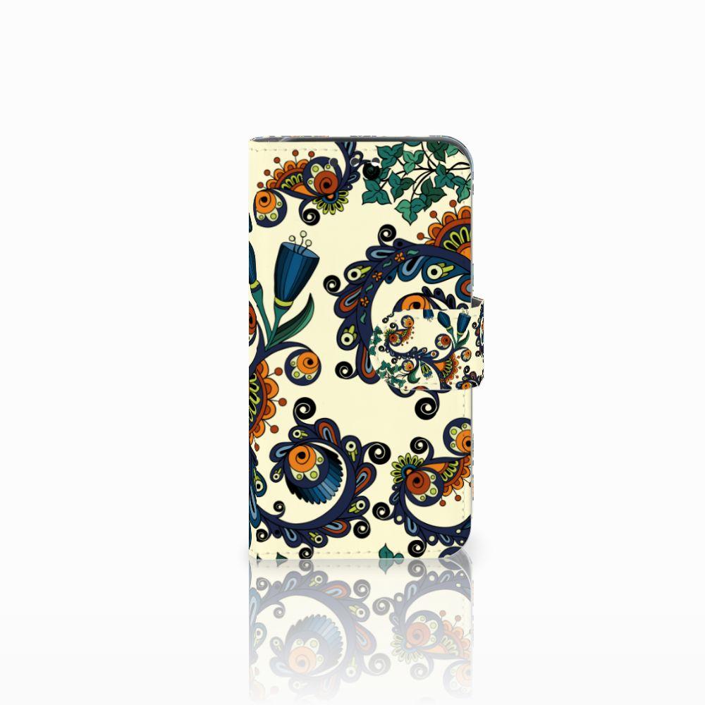 Wallet Case Huawei Y5 Y560 Barok Flower