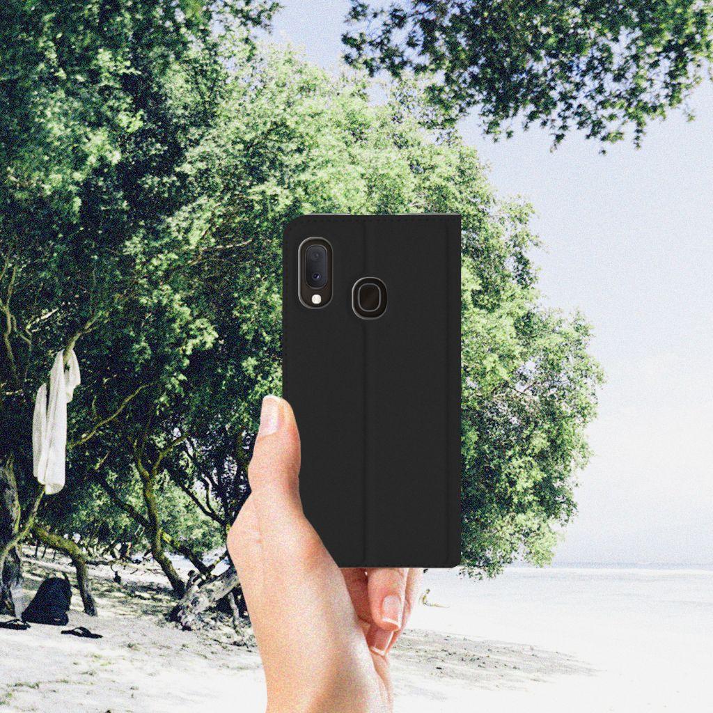 Samsung Galaxy A20e Hoesje met tekst Woke Up - Origineel Cadeau Zelf Maken