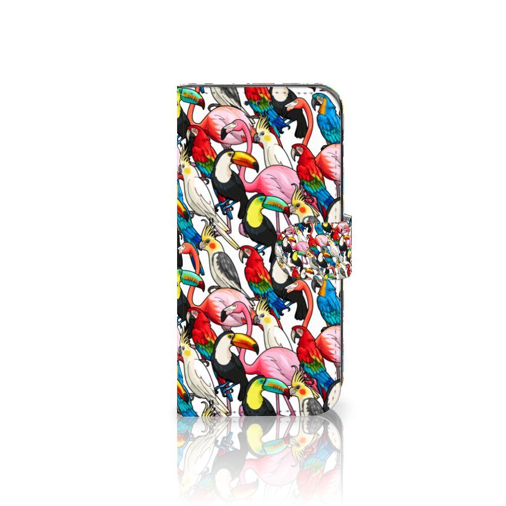 Samsung Galaxy J5 2017 Uniek Boekhoesje Birds