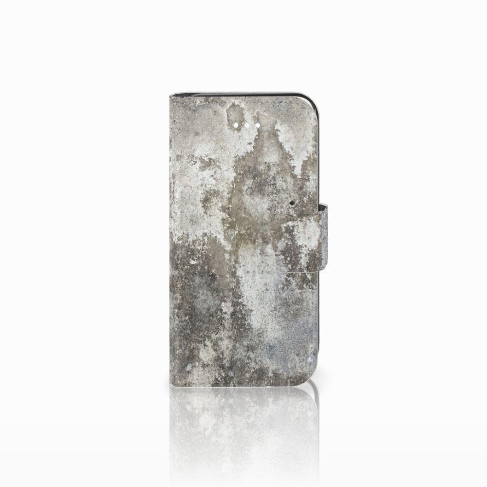 Apple iPhone 5 | 5s | SE Bookcase Beton Print