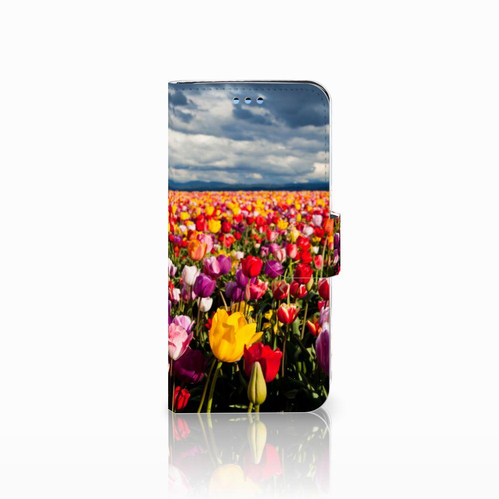 Samsung Galaxy S9 Uniek Boekhoesje Tulpen