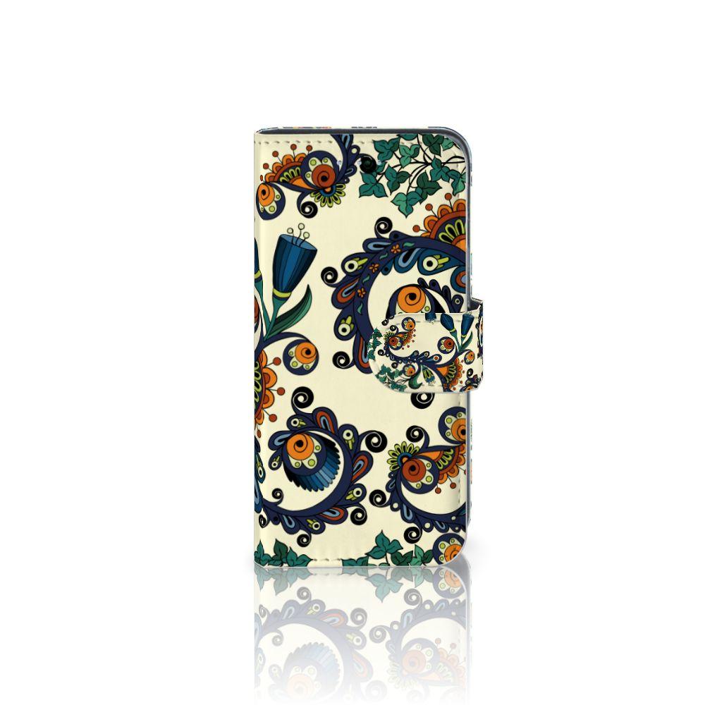 Samsung Galaxy A5 2016 Boekhoesje Design Barok Flower