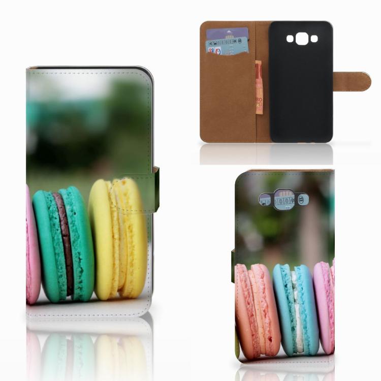 Samsung Galaxy E7 Book Cover Macarons