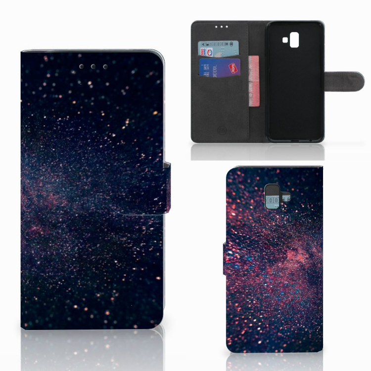 Samsung Galaxy J6 Plus (2018) Bookcase Stars