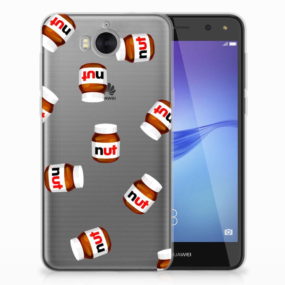 Huawei Y5 2017 | Y6 2017 Siliconen Case Nut Jar
