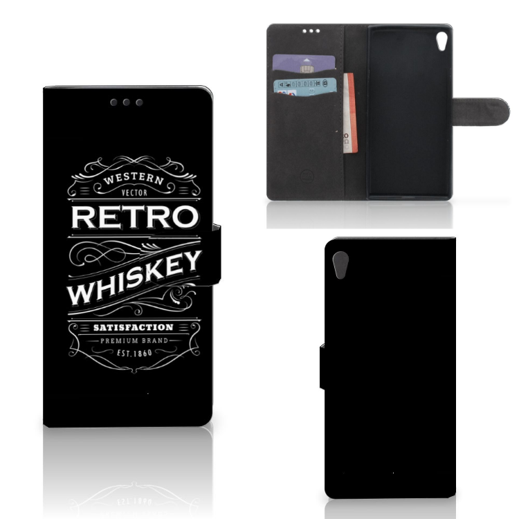 Sony Xperia XA Ultra Book Cover Whiskey