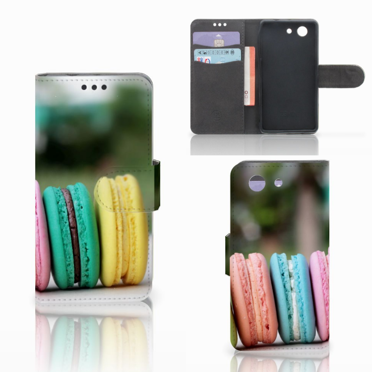 Sony Xperia Z3 Compact Book Cover Macarons