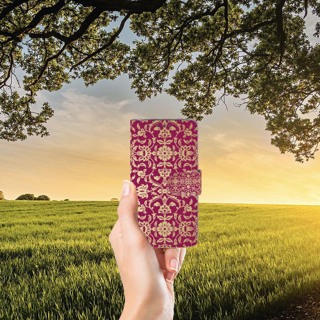 Samsung Galaxy J5 (2015) Boekhoesje Design Barok Pink