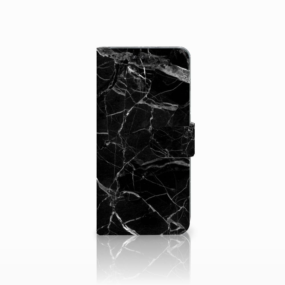 Samsung Galaxy S10 Plus Uniek Boekhoesje Marmer Zwart
