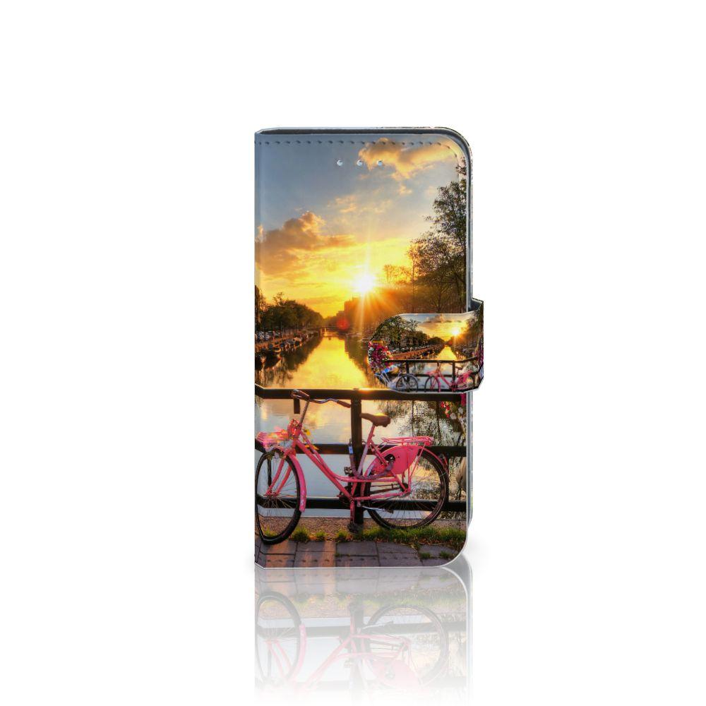 Samsung Galaxy A5 2016 Uniek Boekhoesje Amsterdamse Grachten