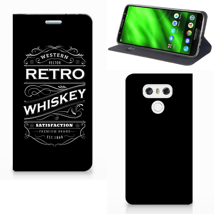 LG G6 Flip Style Cover Whiskey