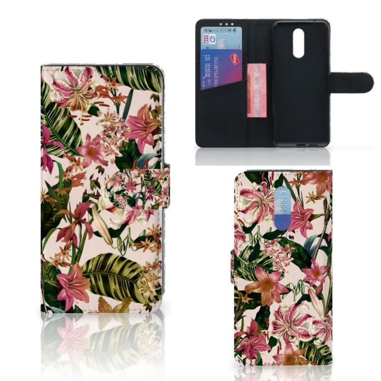 Nokia 3.2 Hoesje Flowers