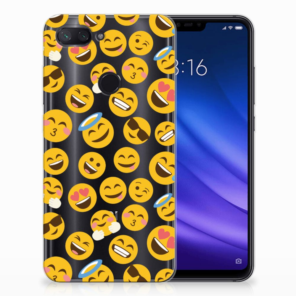 Xiaomi Mi 8 Lite TPU bumper Emoji