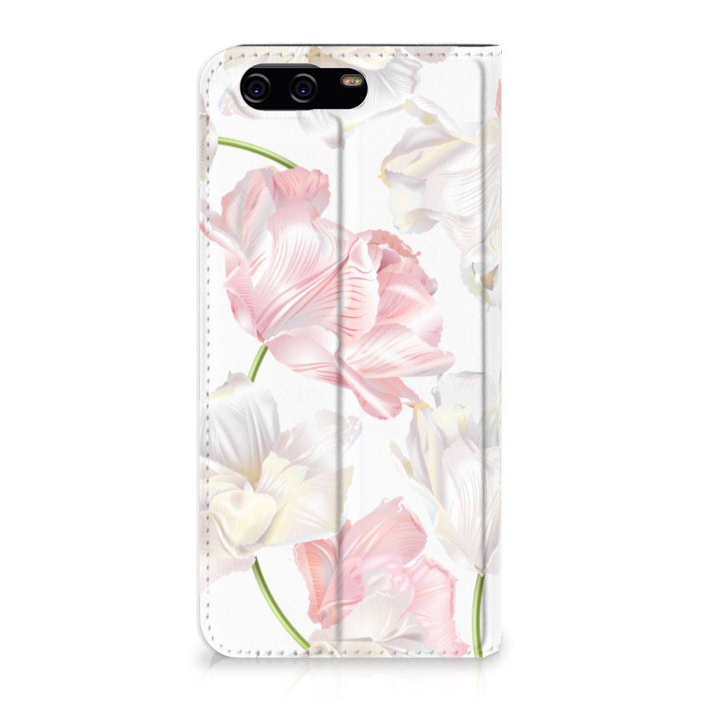 Huawei P10 Standcase Hoesje Design Lovely Flowers