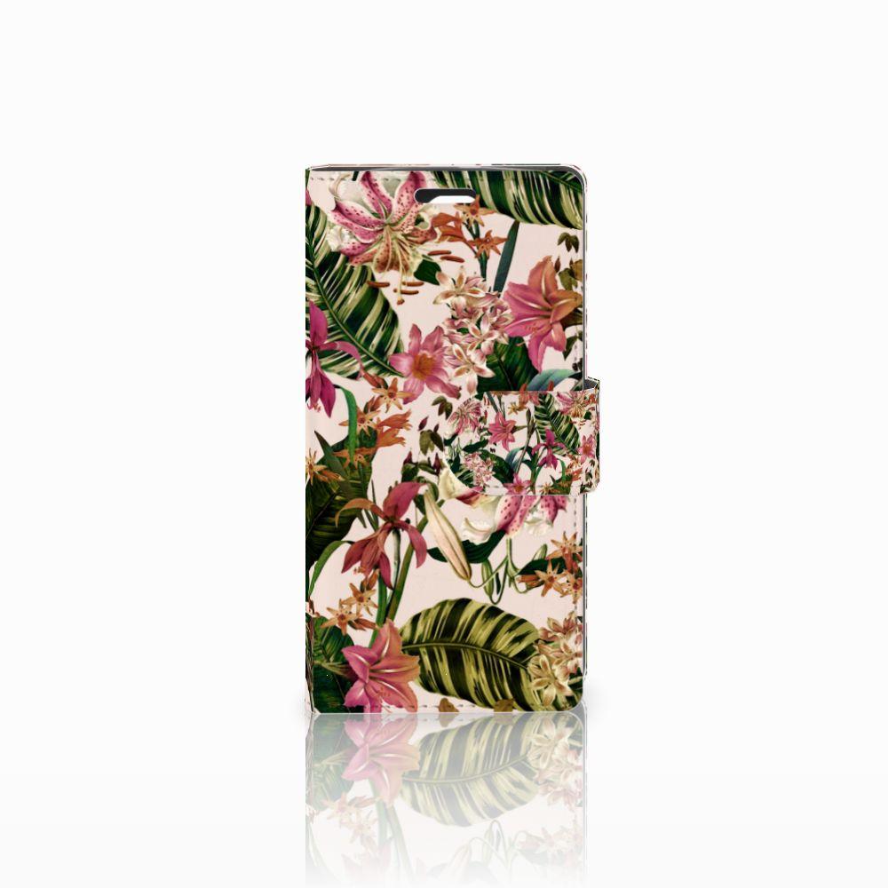LG Spirit Uniek Boekhoesje Flowers