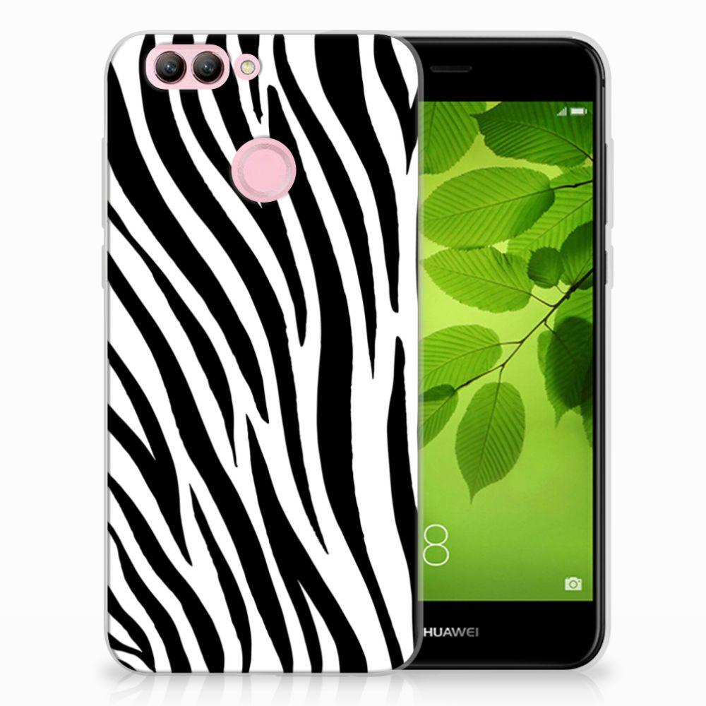 Huawei Nova 2 TPU Hoesje Design Zebra