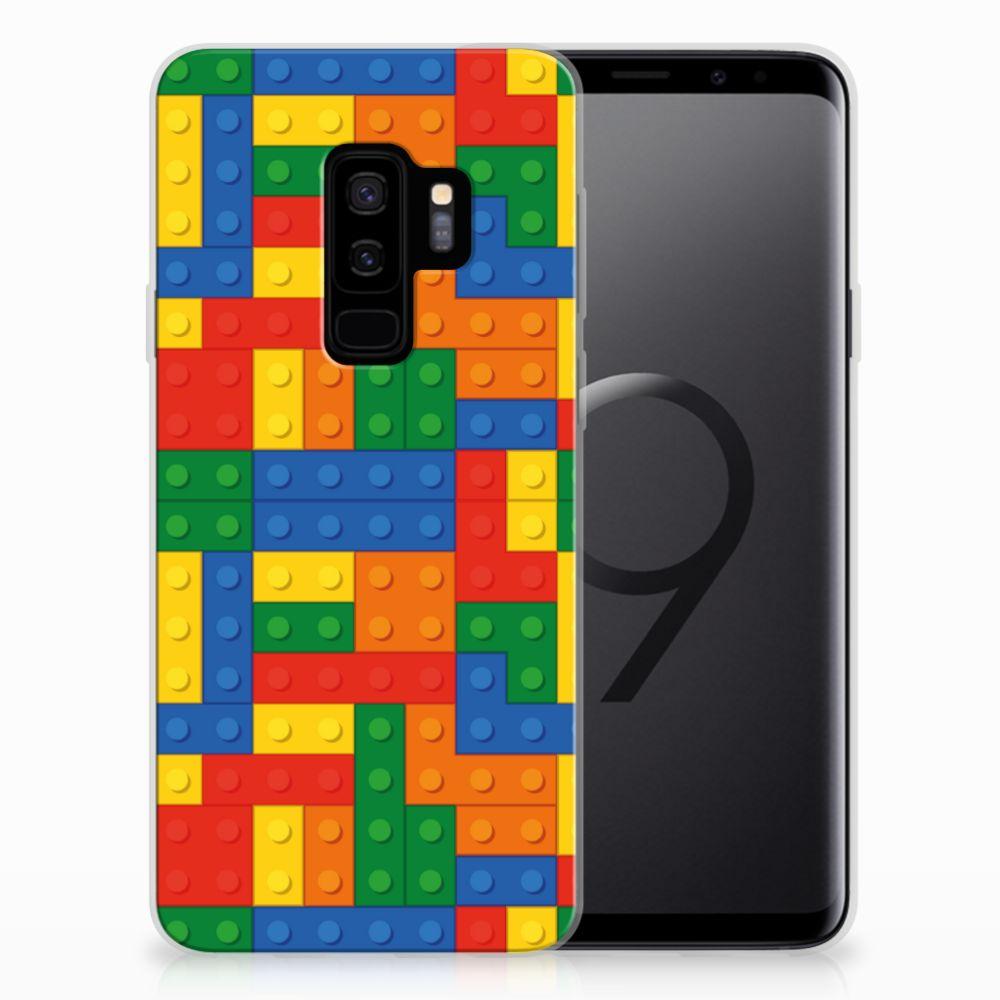 Samsung Galaxy S9 Plus TPU Hoesje Design Blokken