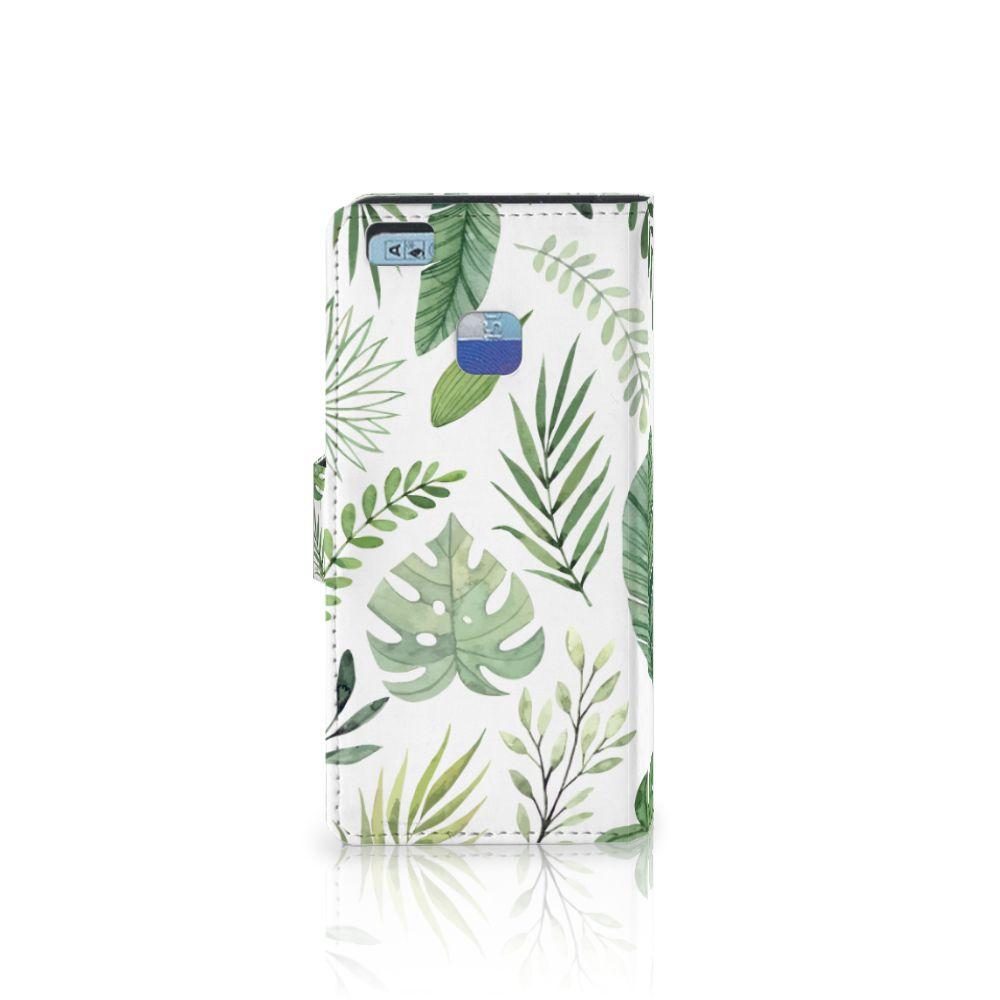 Huawei P9 Lite Hoesje Leaves
