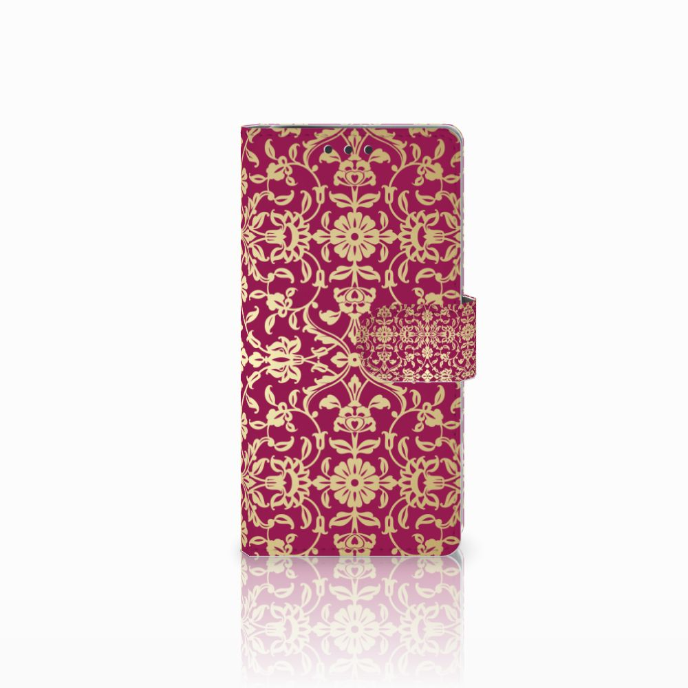 Sony Xperia X Performance Boekhoesje Design Barok Pink