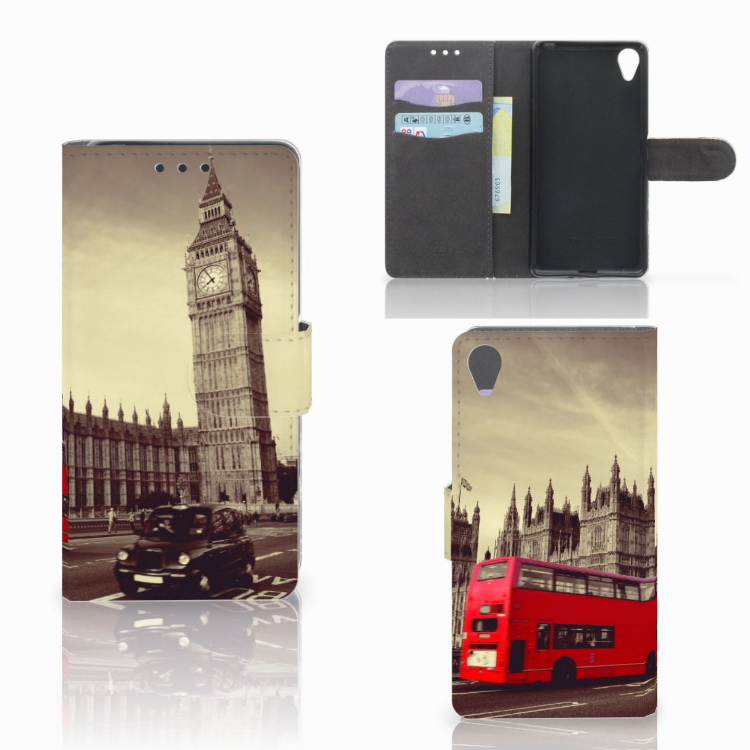 Sony Xperia X Flip Cover Londen