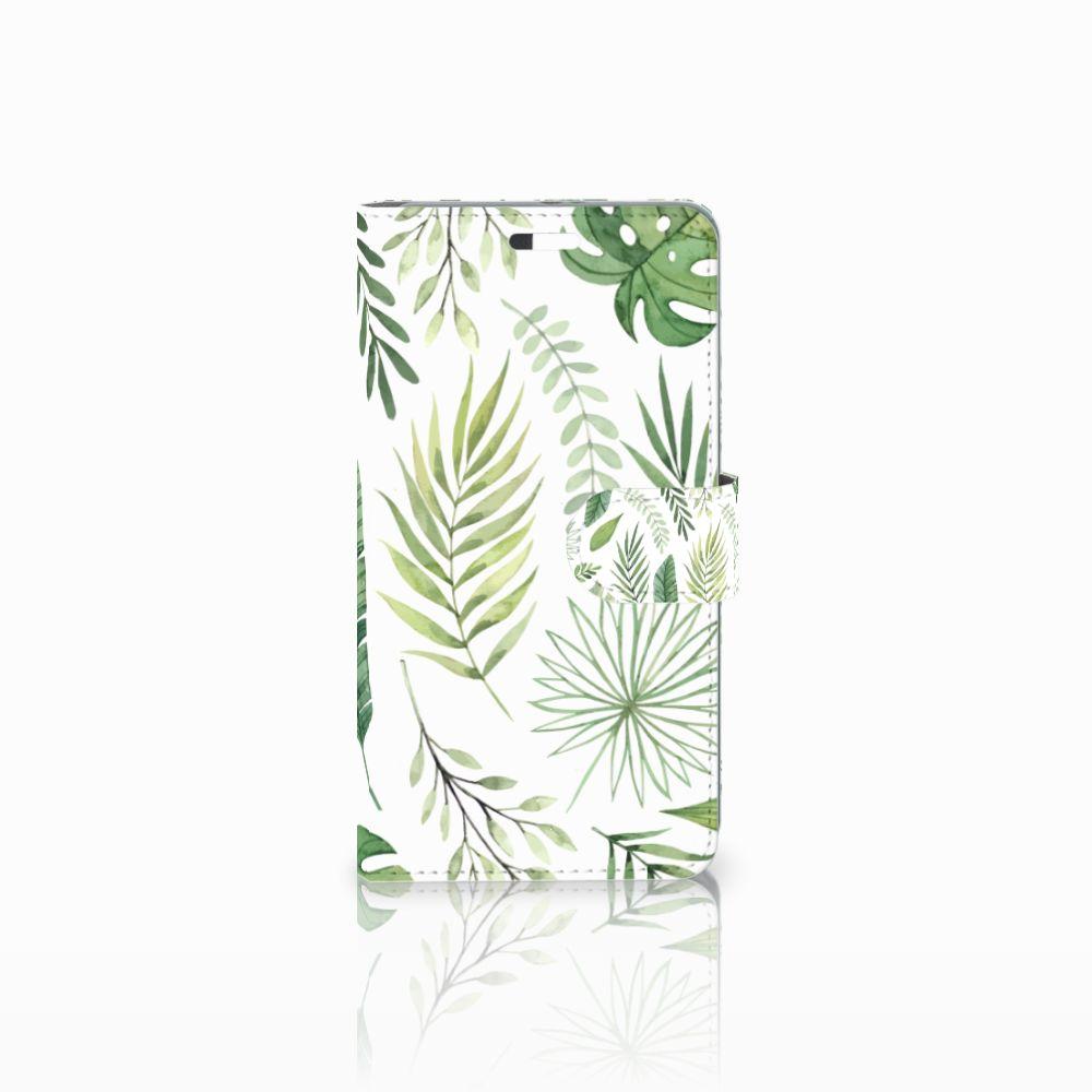 Huawei P9 Plus Uniek Boekhoesje Leaves