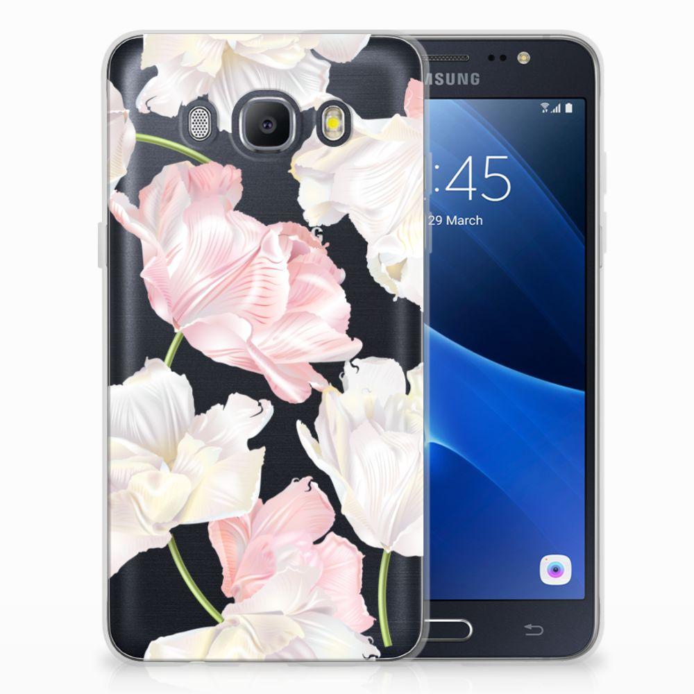 Samsung Galaxy J5 2016 TPU Hoesje Design Lovely Flowers
