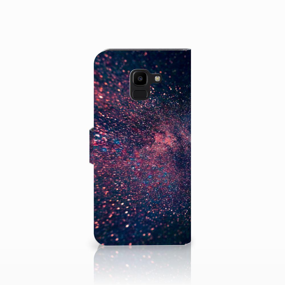 Samsung Galaxy J6 2018 Bookcase Stars