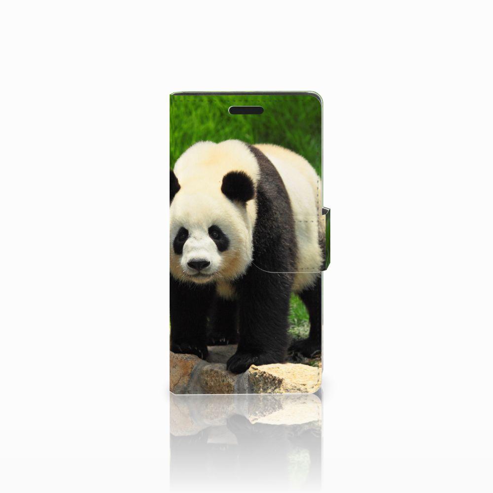 LG Leon 4G Boekhoesje Design Panda