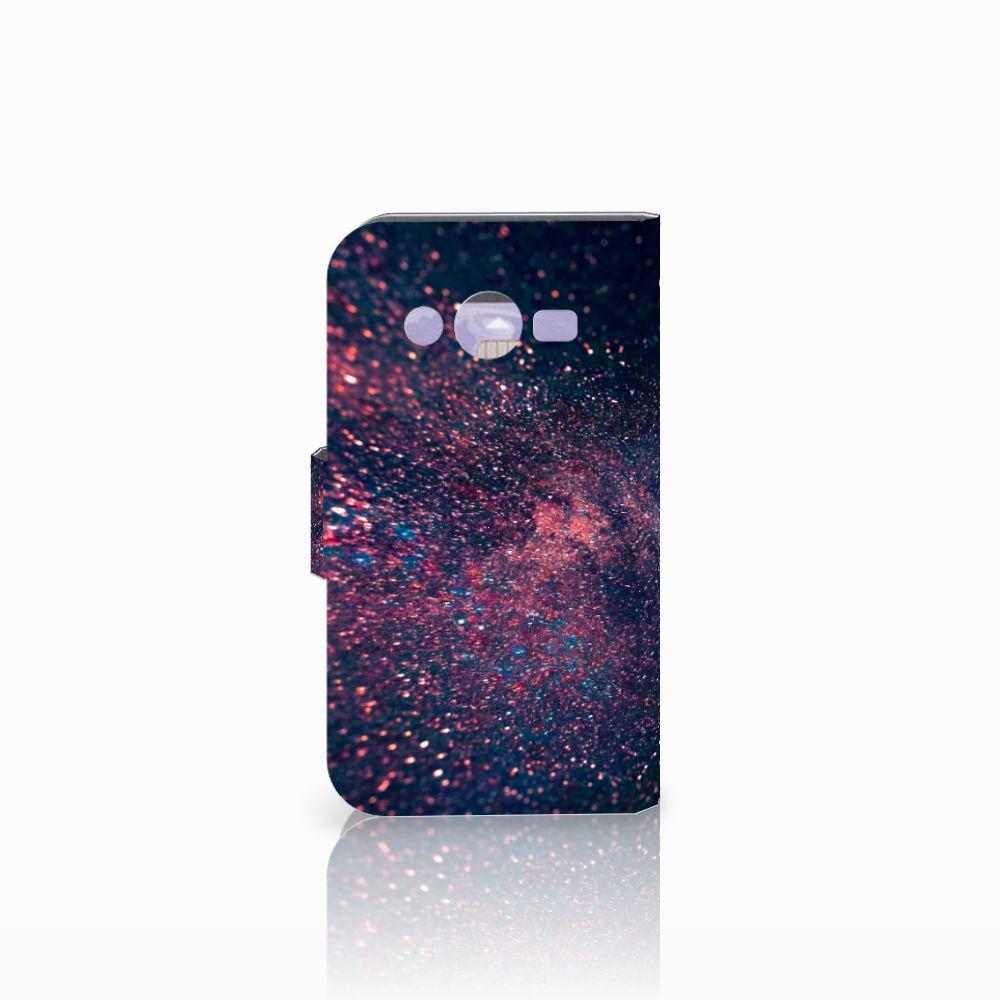 Samsung Galaxy Core 2 Bookcase Stars