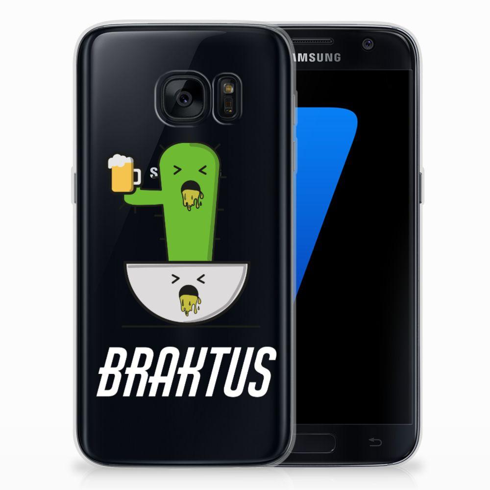 Samsung Galaxy S7 Telefoonhoesje met Naam Braktus