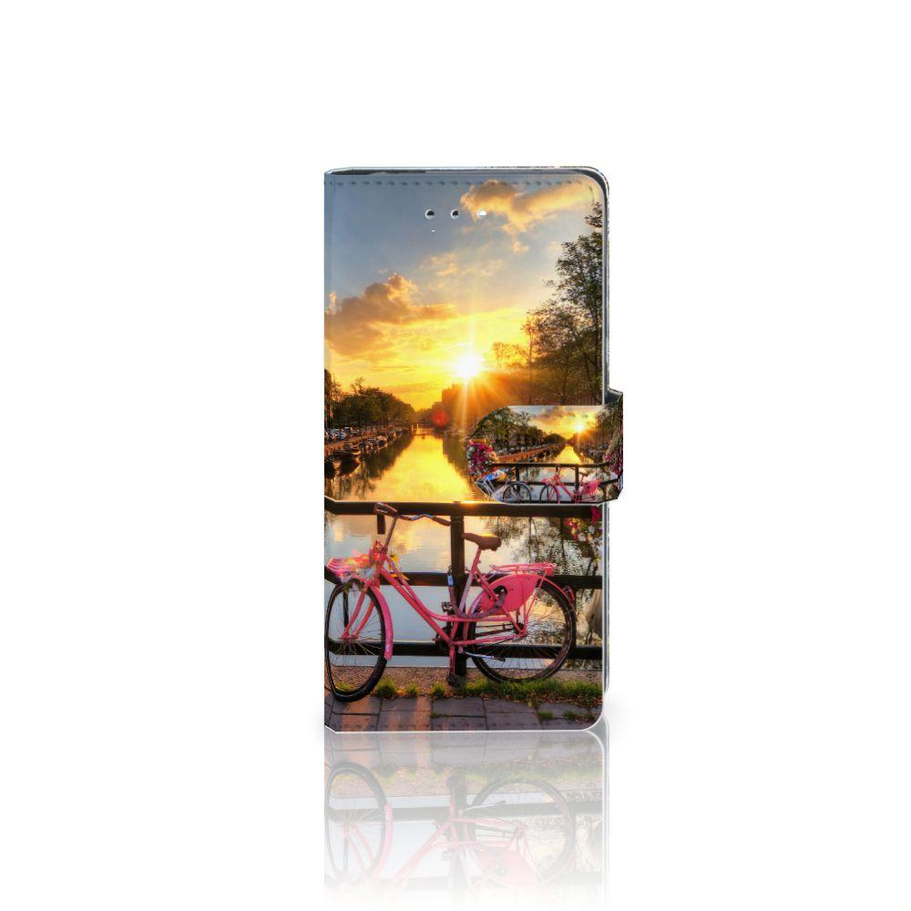 Huawei P9 Uniek Boekhoesje Amsterdamse Grachten