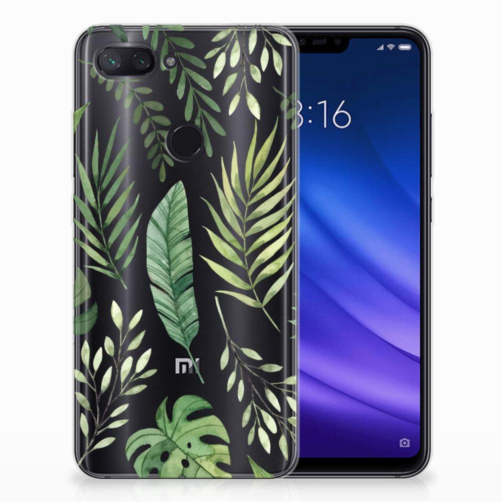 Xiaomi Mi 8 Lite Uniek TPU Hoesje Leaves