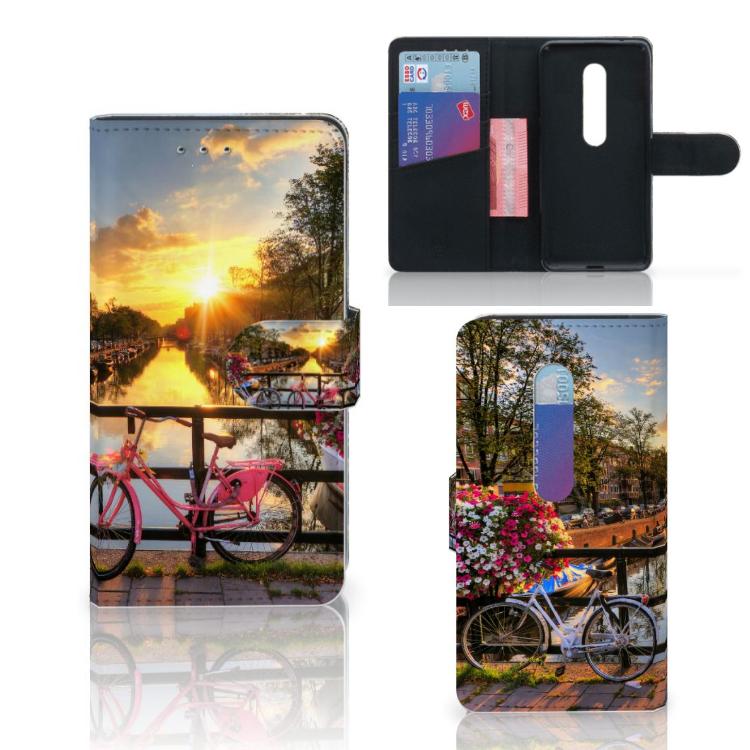 Motorola Moto G 3e Generatie Flip Cover Amsterdamse Grachten