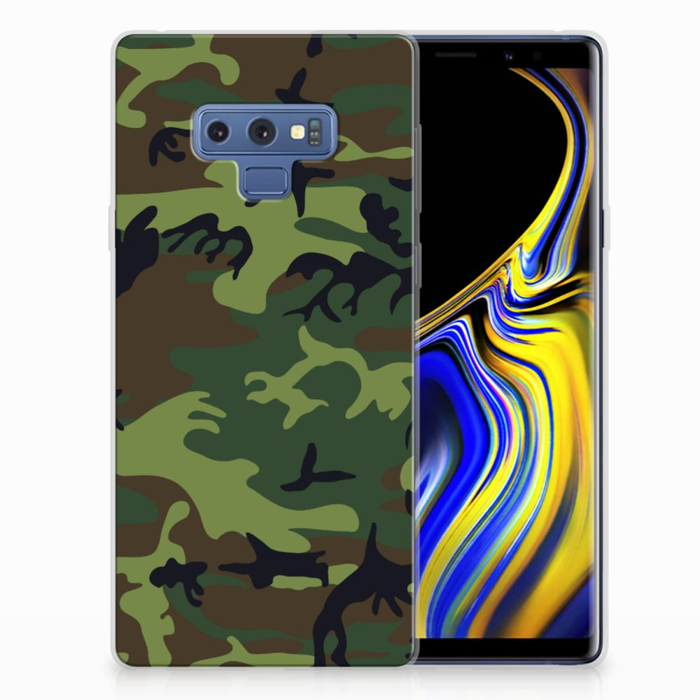 Samsung Galaxy Note 9 TPU bumper Army Dark