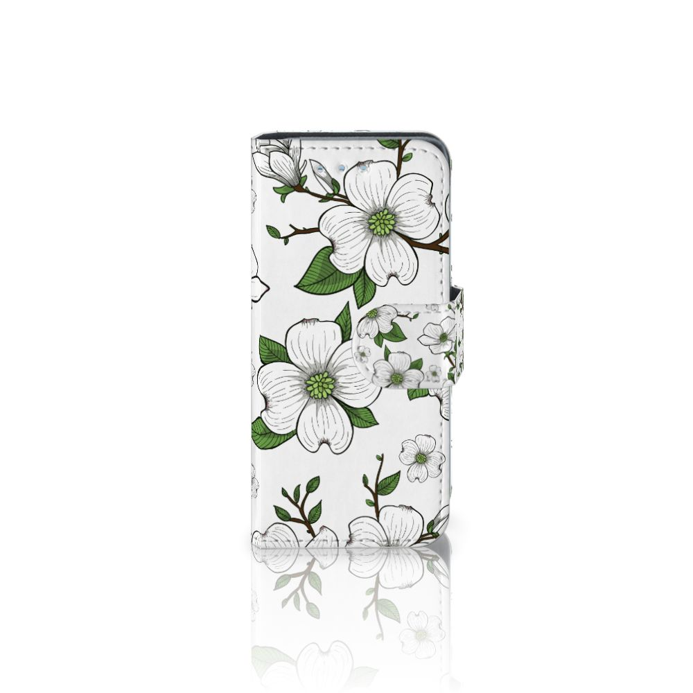 Samsung Galaxy S4 Mini i9190 Boekhoesje Design Dogwood Flowers